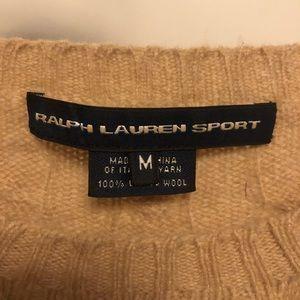 Polo by Ralph Lauren Sweaters - Ralph Lauren Sport Tan Lambs Wool M Sweater